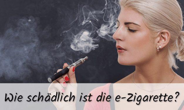 Wie schädlich sind E Zigaretten, E-Shishas & Liquids ohne Nikotin?
