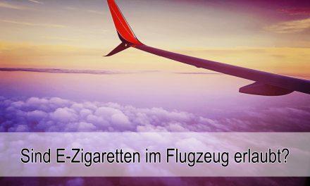 Liquids und E-Zigarette im Flugzeug und Handgepäck erlaubt?