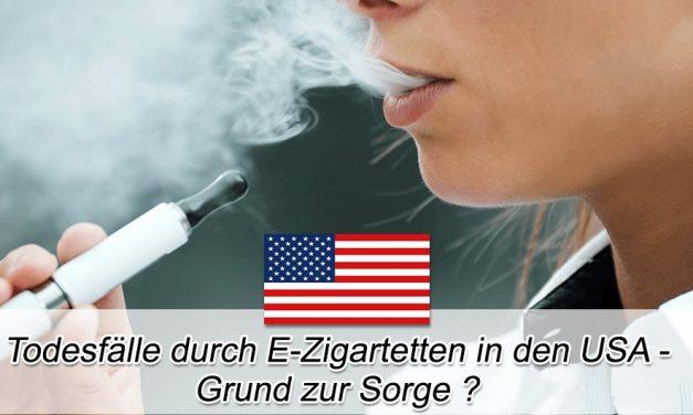 Todesfälle durch E-Zigaretten in den USA: Grund zur Sorge?